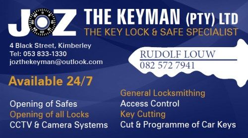 JOZ THE KEYMAN ( Kimberley )