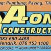A-ONE CONSTRUCTION ( Kimberley )